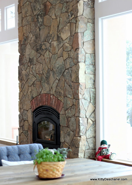 cozy fireplace decor