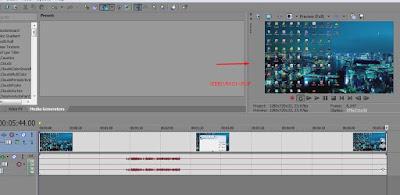 Cara Crop video dengan mudah di Sony Vegas