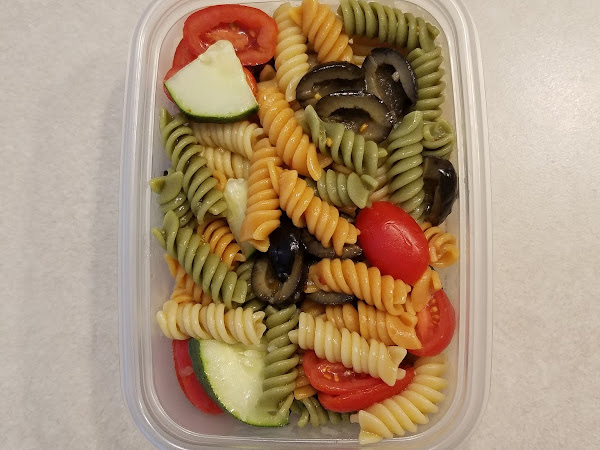 Quick, Easy & Healthy Pasta Salad #TastyTuesday