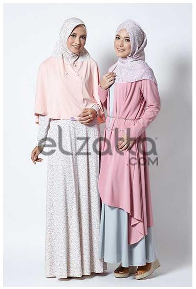Koleksi Model Baju Muslim Elzatta Terbaru
