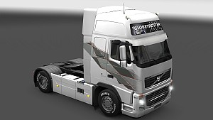 Time Machine Volvo 2009 skin