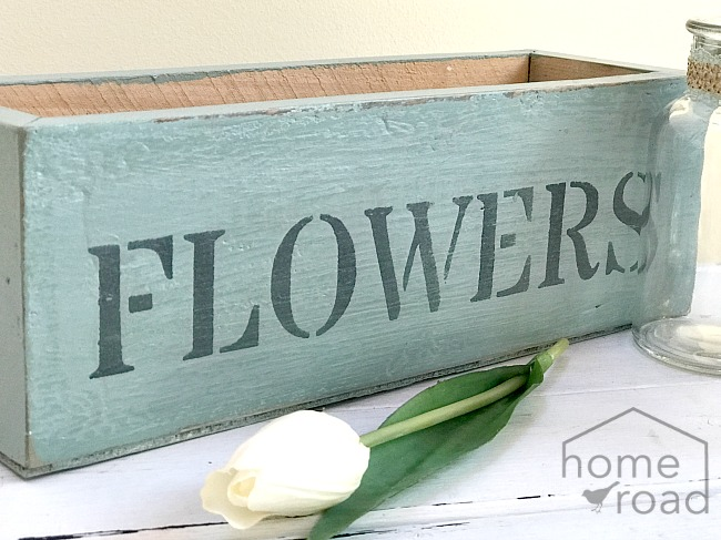 How to Make a Rustic Flower Box
