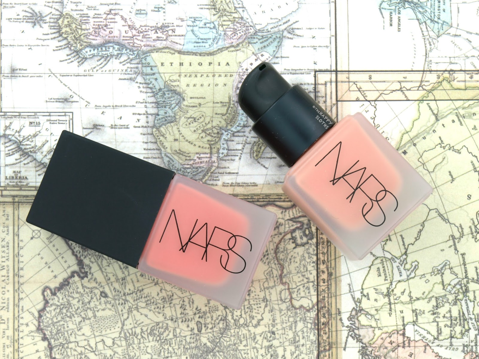"NARS Liquid Blush in ""Torrid"" & ""Luster"": Review and Swatches"