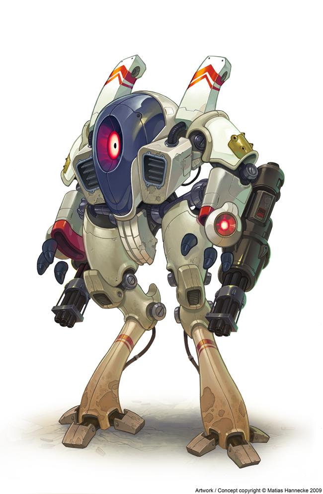 robot henti