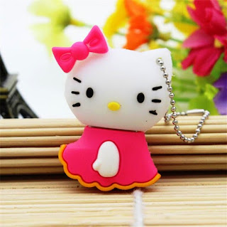 Gambar Flashdisk Hello Kitty Pink Yang Lucu
