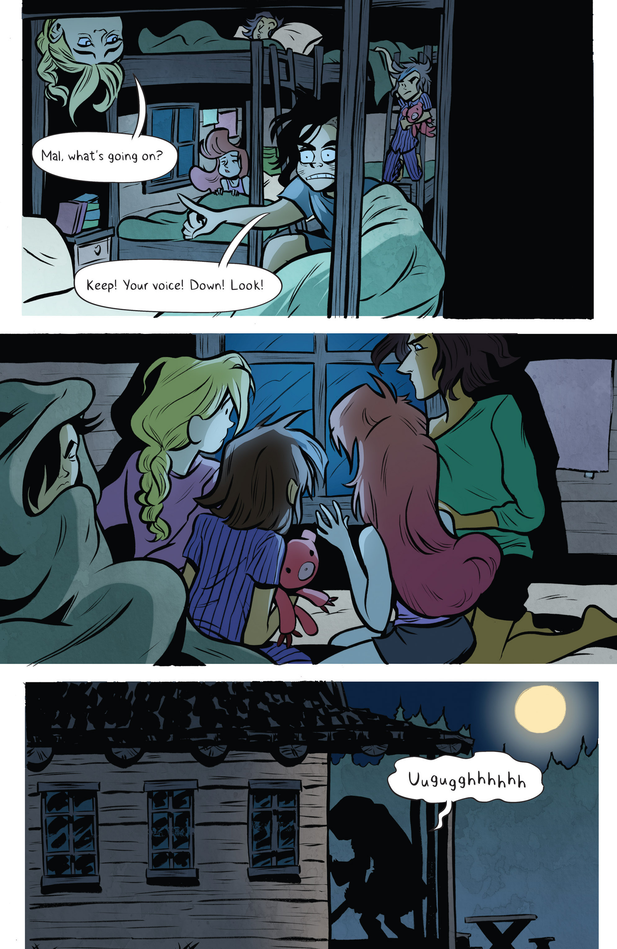 Read online Lumberjanes: Makin' the Ghost of It 2016 Special comic -  Issue # Full - 15