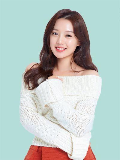 kim ji won long brown hairstyle for Dr.G