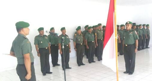 KODIM 1415 Selayar, Gelar Korps Rapor Pindah Satuan