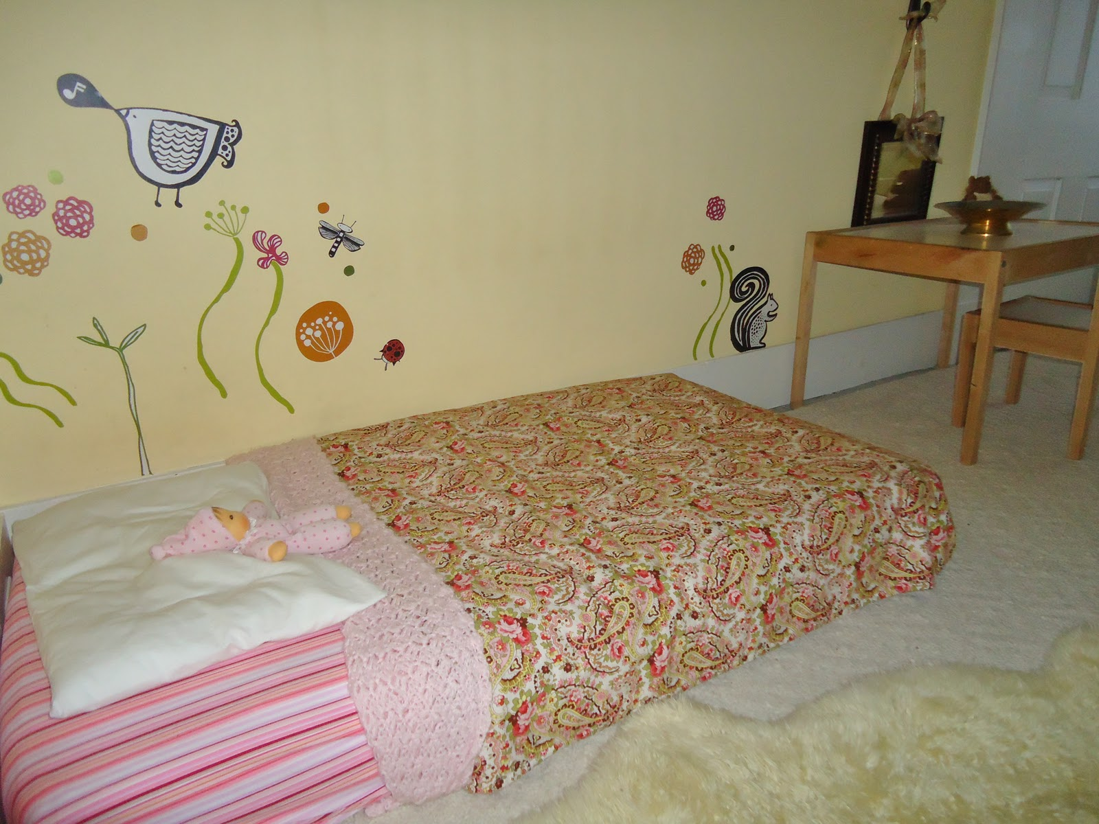 Montessori-Style Bed (Photo from To the Lesson!)