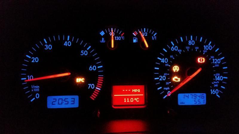 Epc Light Volkswagen >> Volkswagen Golf Epc Light