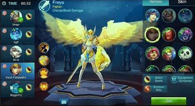Cara Gratis Mendapatkan Hero Freya di Mobile Legends