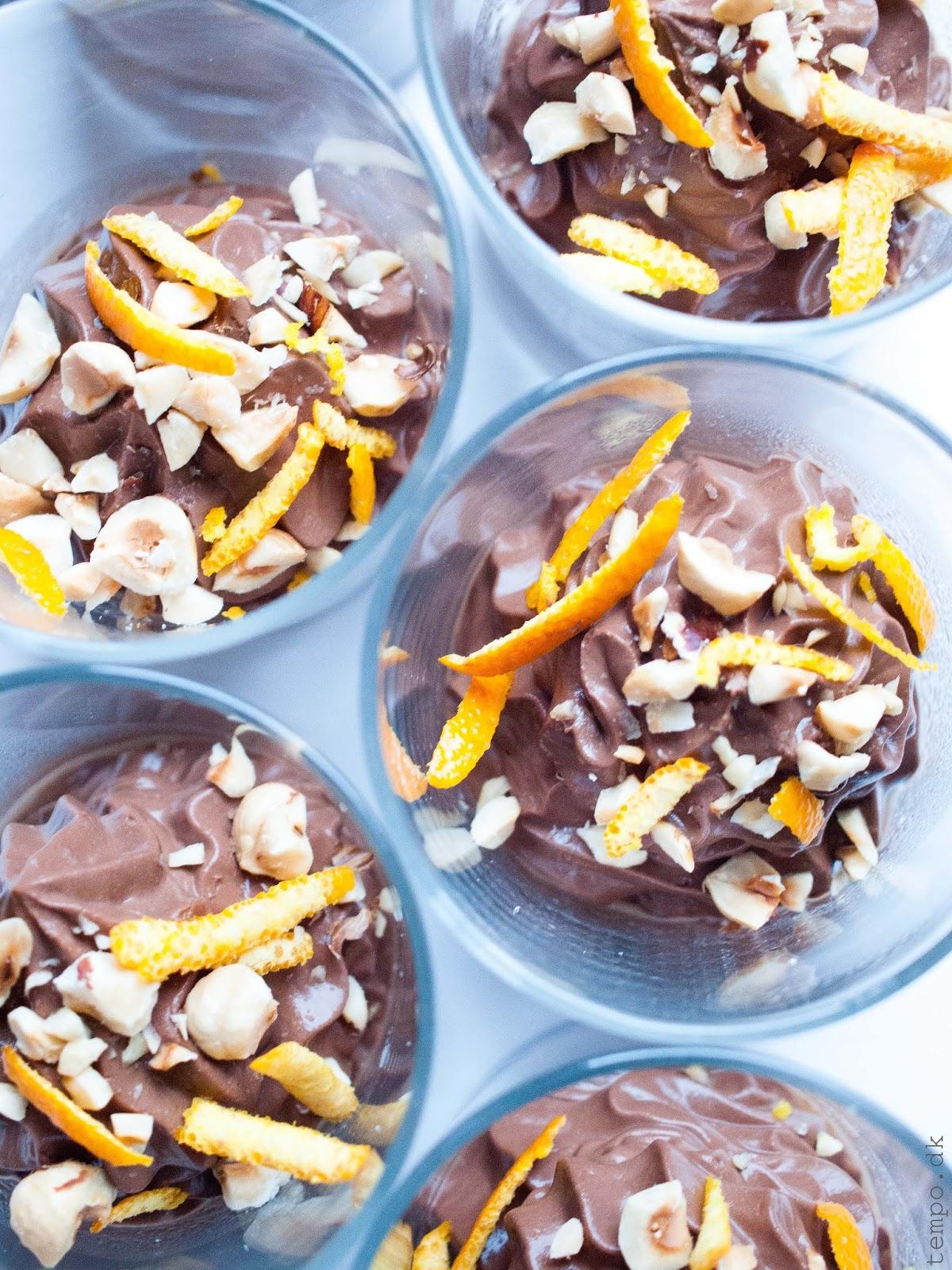 Chokolademousse med græsk yoghurt