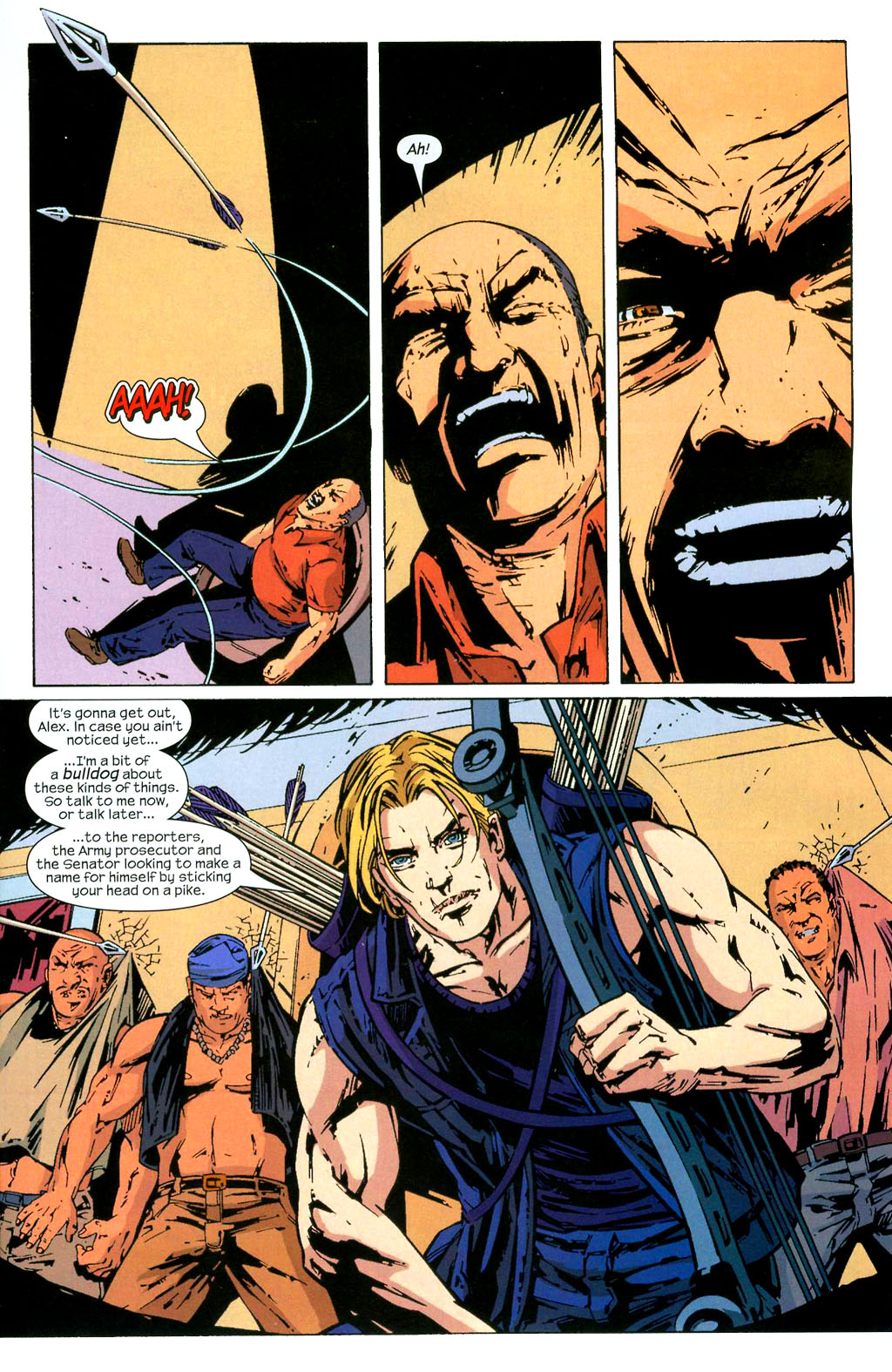 Hawkeye (2003) Issue #3 #3 - English 18