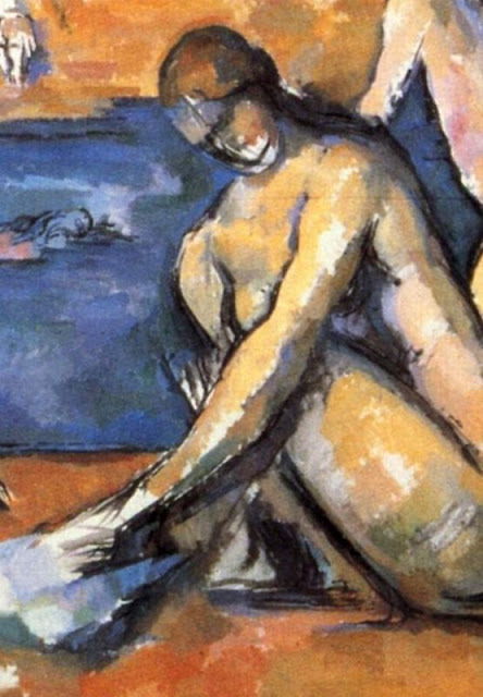 Paul Cézanne 1839-1906 | The Bather's series