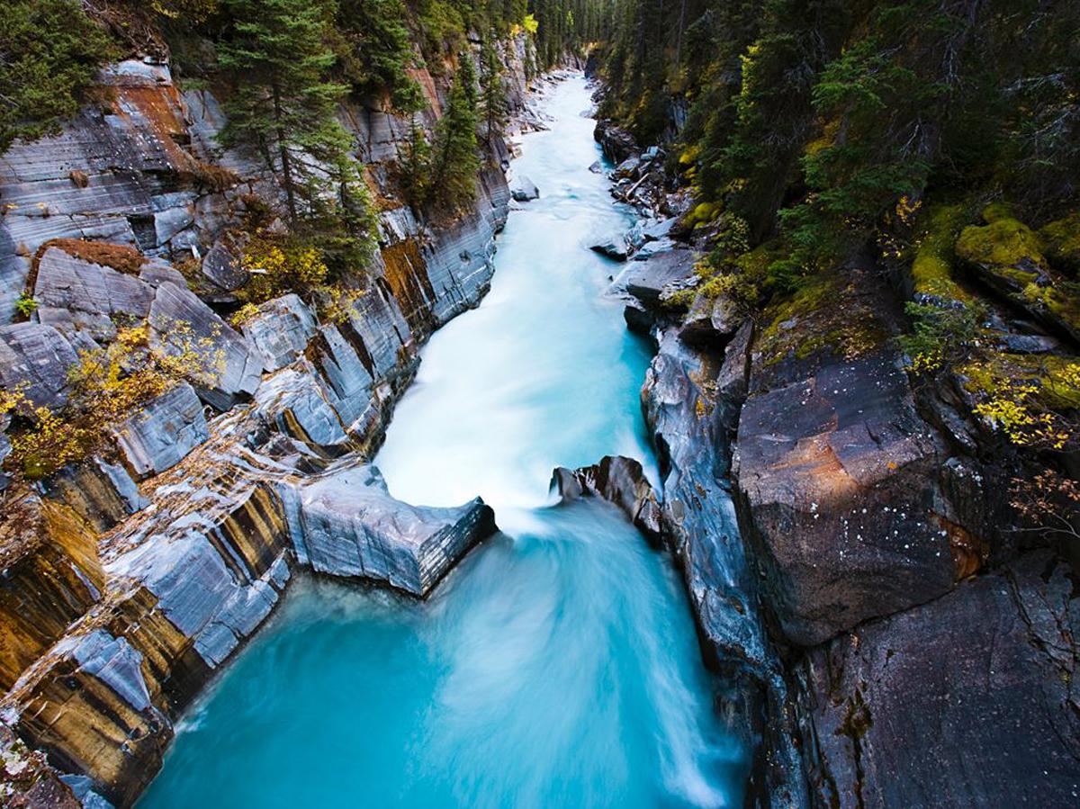 Numa Falls Canada Wallpaper Kootenay National Park Canada Natural Creations