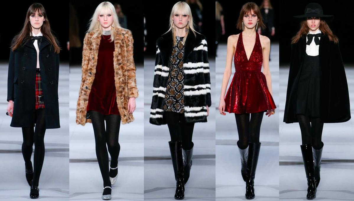hedi slimane, ysl, runway, catwalk, fashion week, designer, rtw