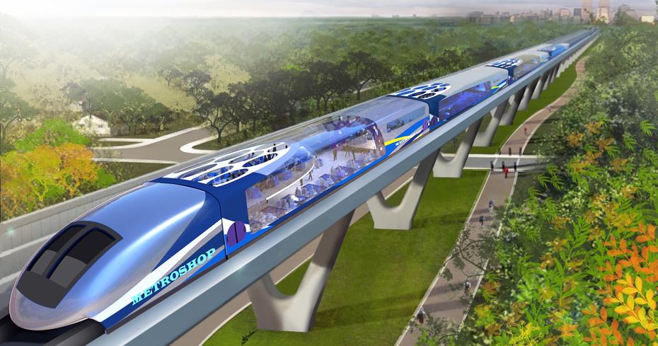 Metroshop, un treno pendolare multiservizi
