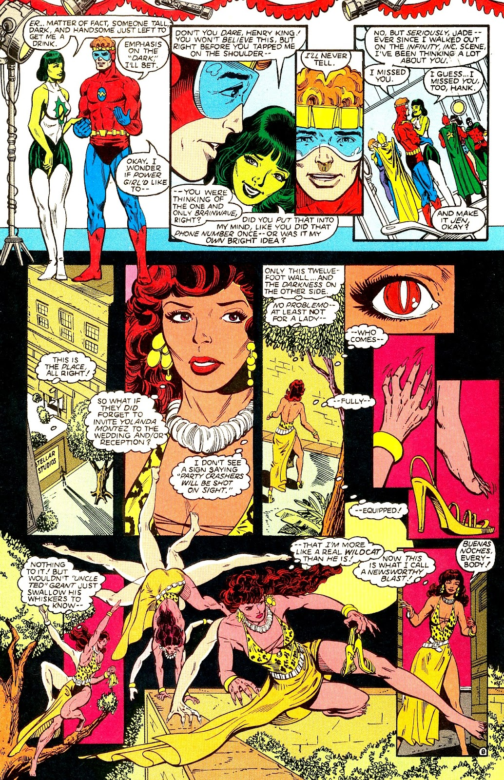 Infinity Inc. (1984) issue 21 - Page 10