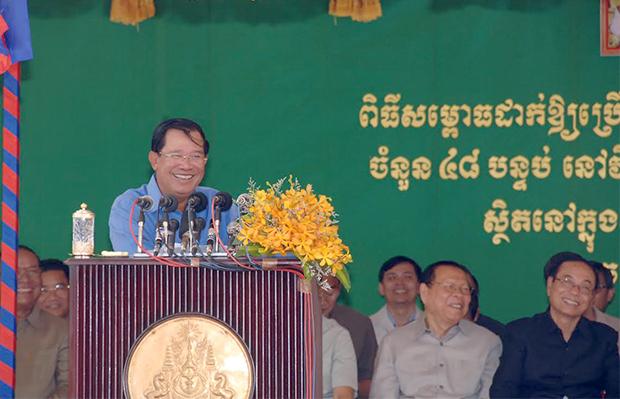 Elections communales : Début de campagne pour  Hun Sèn