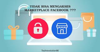 Tidak Bisa Masuk dan Mengakses Marketplace Facebook