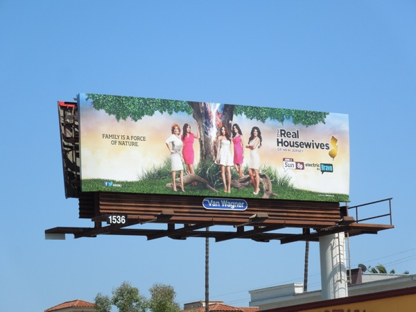 Real Housewives New Jersey 5 billboard