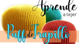 Cómo tejer puffs a crochet y a dos agujas / Tutoriales