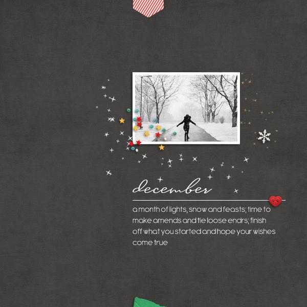 december © sylvia • sro 2017 • dunia designs • december documented