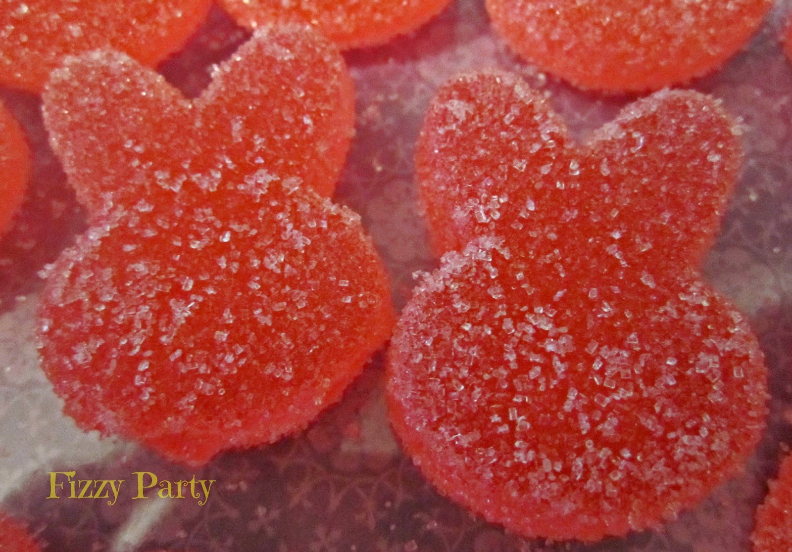 Homemade Gummy Easter Candy
