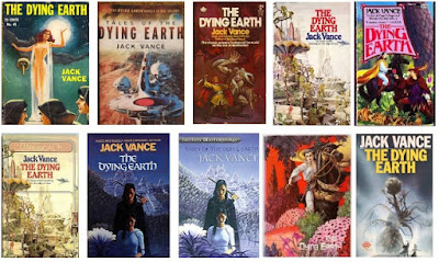 Jack Vance Haldokló Föld könyvborítók