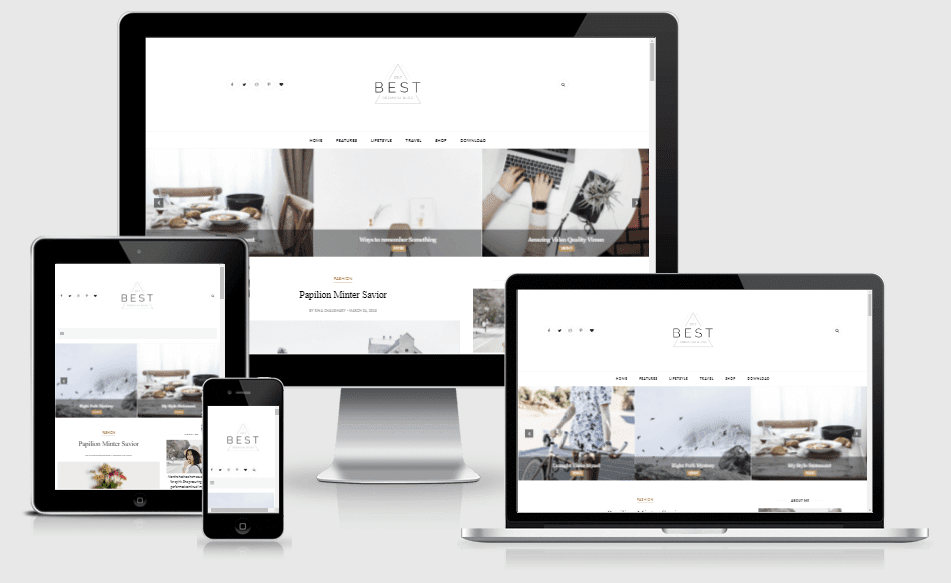 Best - Responsive Clean Blogger theme