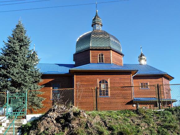 Поїздки по Україні, Станків. Свято-Троїцька церква