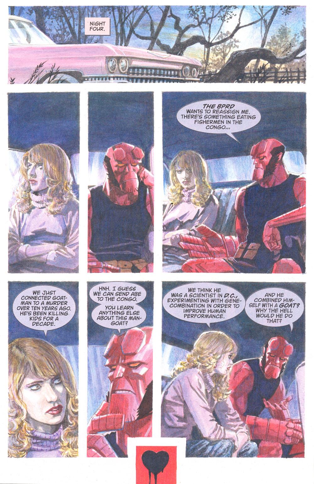Read online Hellboy: Weird Tales comic -  Issue #5 - 4