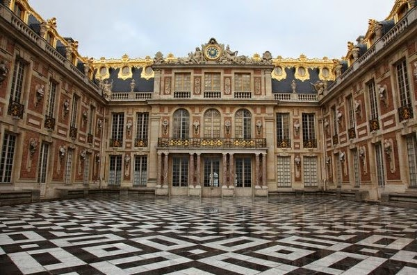 Entrada ao Palácio de Versalhes