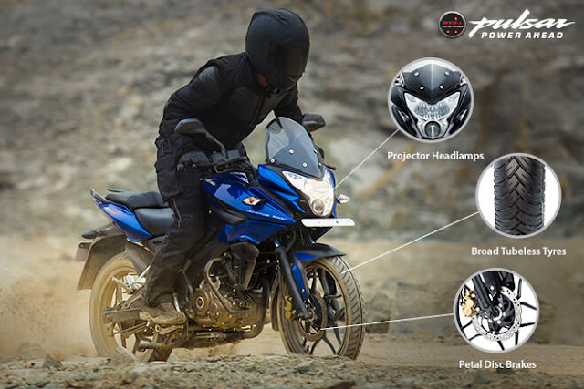 Pulsar AS 150 Safety