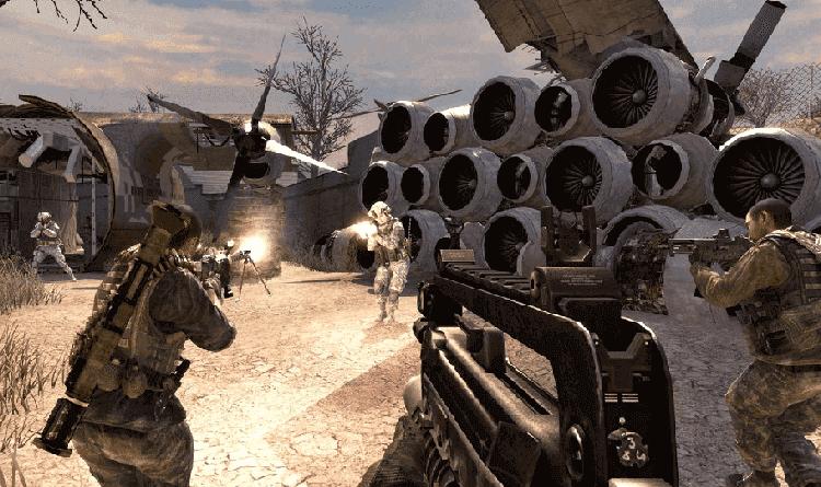 تحميل لعبة call of duty modern warfare 2 بحجم صغير