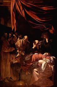 Caravaggio - La muerte de la Virgen
