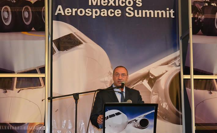 Frederic García, CEO de Airbus Group México. (Foto: VI)