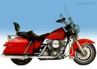 Harley Davidson FLHS ELECTRA GLD motorcycle