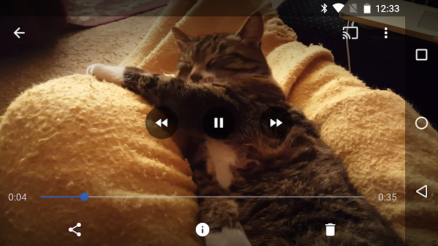 Google Photos Got v1.16 With Fast Forward and Rewind Buttons For Video Player : Download APK