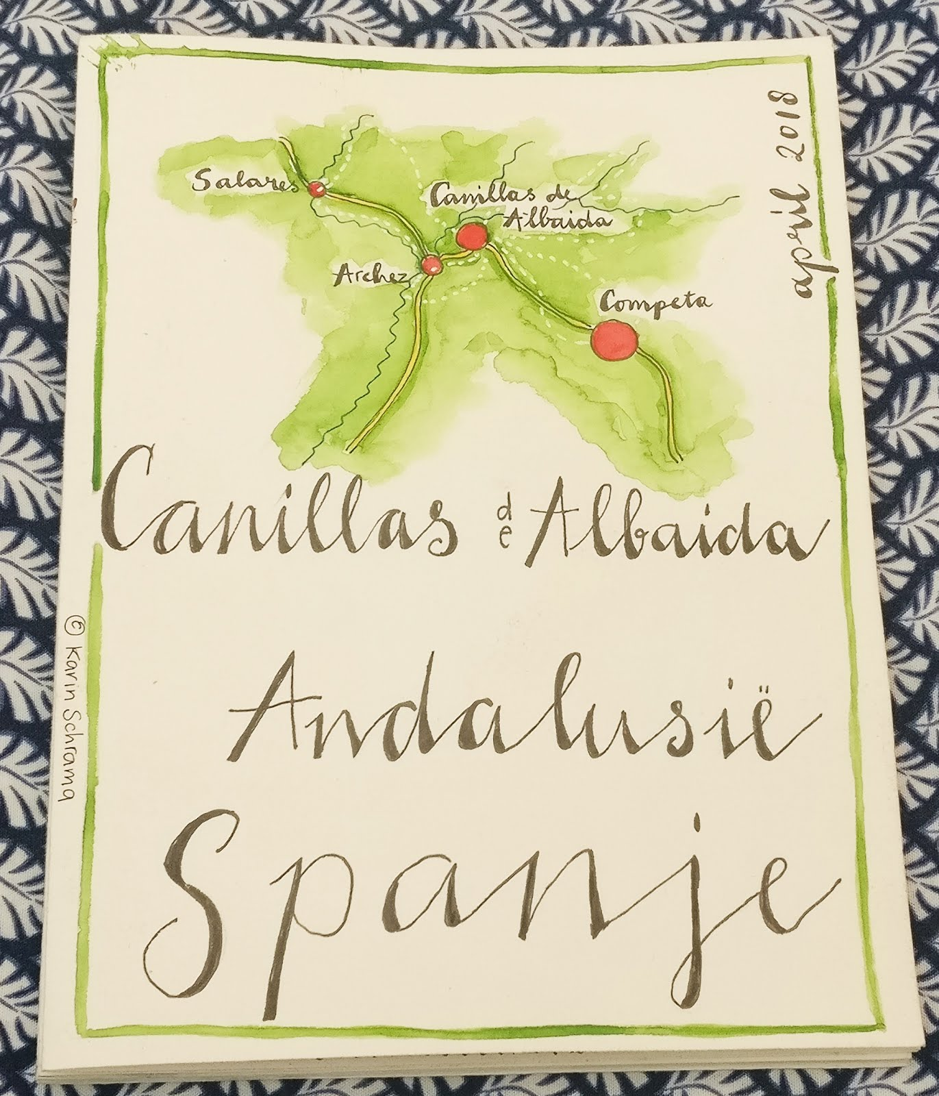 Art-journal On The Road: Andalusië