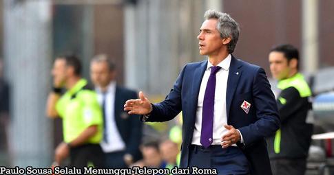 Paulo Sousa Selalu Menunggu Telepon dari Roma