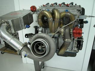 motore turbo elaborato