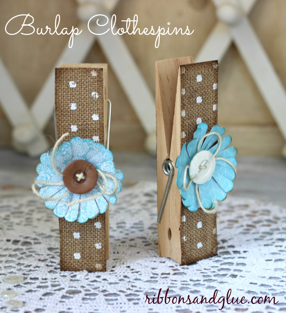 Valentines Clothes Pin Wreath