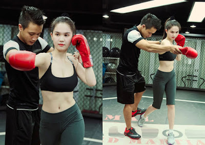 tập luyện boxing với HLV