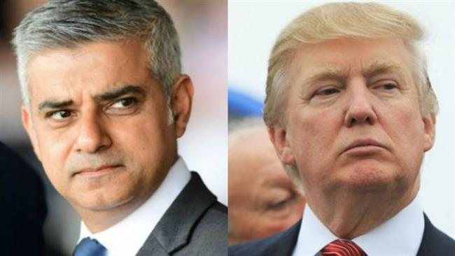 US President Donald Trump renews Twitter attacks on London's Mayor Sadiq Khan