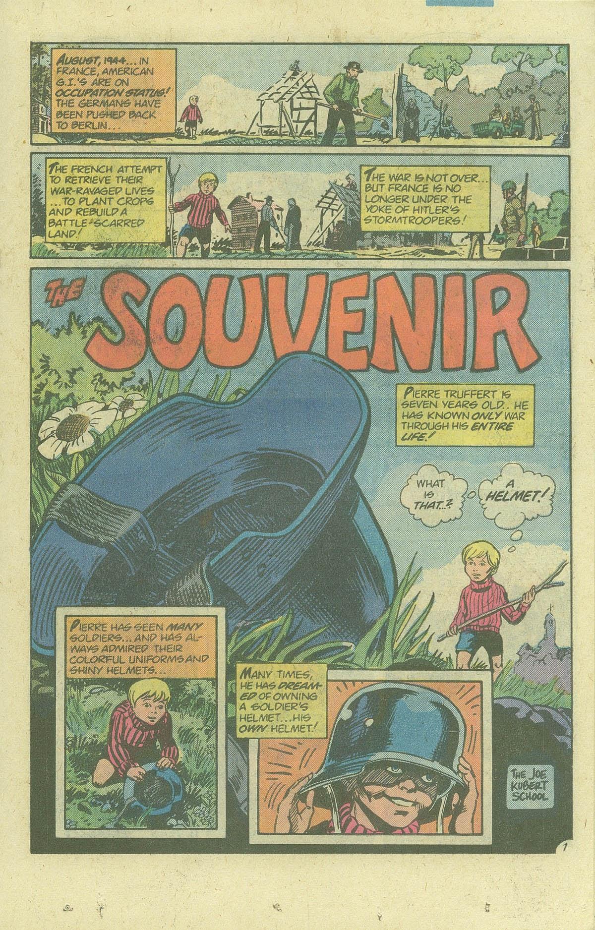 Read online Sgt. Rock comic -  Issue #378 - 18