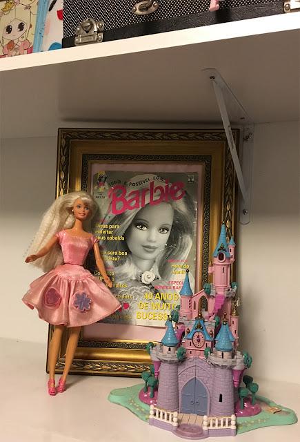 revista antiga da Barbie - edição Barbie 40 anos