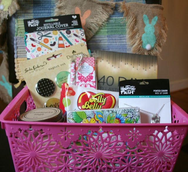 Easter baskets are not just for young children, I have selected some of my favorites to assemble an Easter basket for a teenager or college aged child.