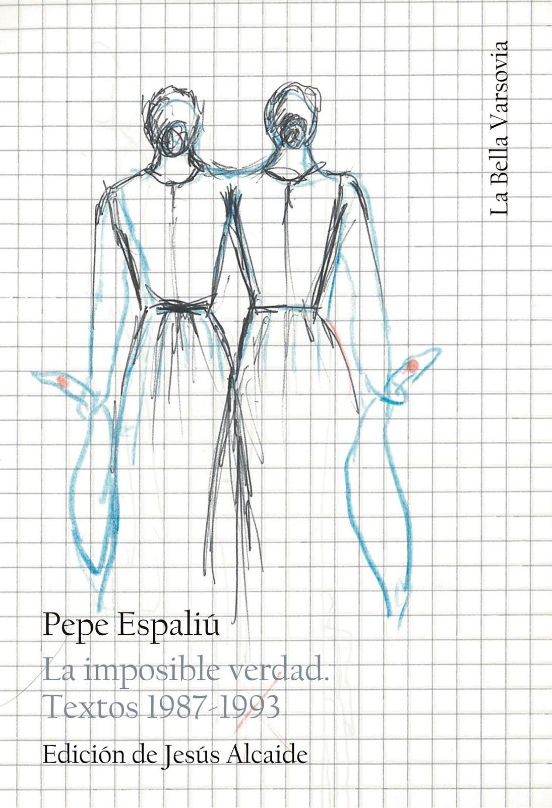 9251f141633b19 En los últimos años de su vida, Pepe Espaliú situó la escritura poética al  mismo nivel que su trabajo en otras disciplinas artísticas.