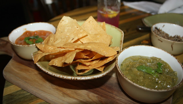 Fresh chips and salsa at Punch Bowl Social